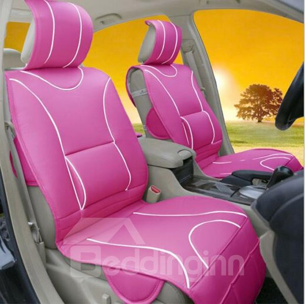 Strong 3D Design Pattern Fresh Bright Color Universal Car Seat Cover