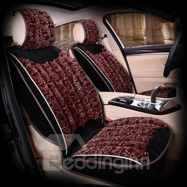 Camouflage Red Classic Better Permeability Universal Car Seat Cover