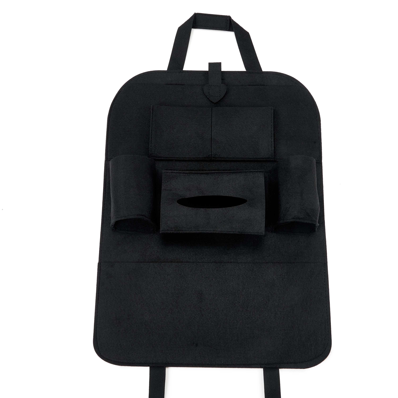 Classical High Rave Car Storage Bag Auto Backseat Organizer Pair