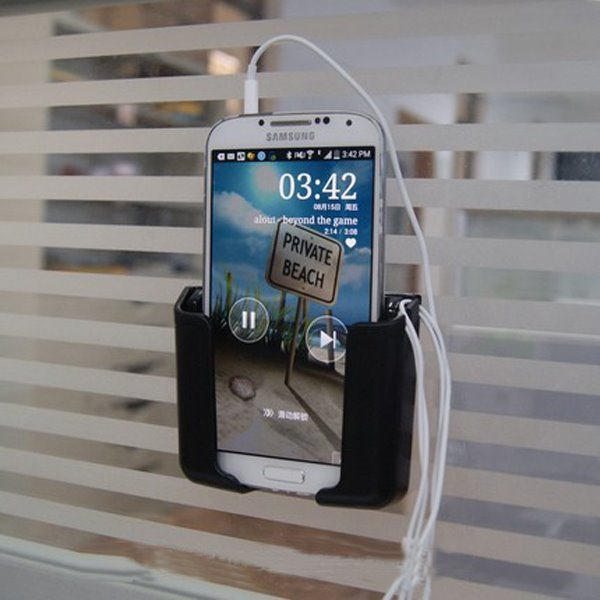 Environment PVC Material And Multifunctional Use Car Phone Holder