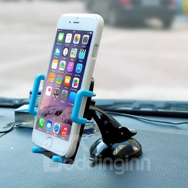 Multifunctional Use Sucker And Outlet Dual Car Phone Holder