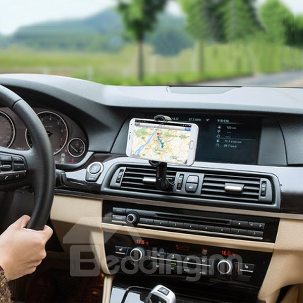 Environment Material And Classic Extension Rod Design Car Phone Holder