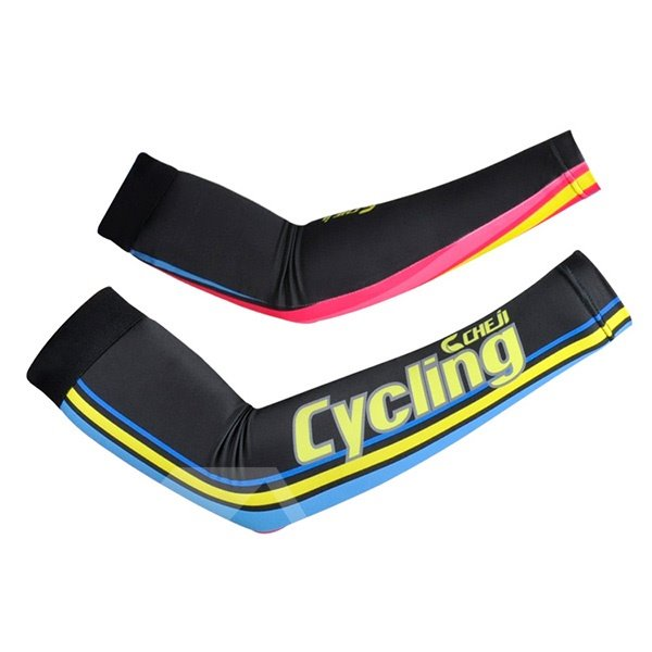 Female Colorful UV Protection Sleeve for Cycling Hiking Golf Cooling Arm Sleeve