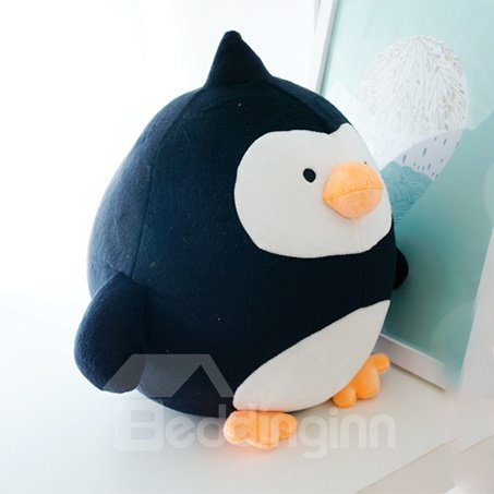 Super Soft Stretch Fabric Baby Penguin Shaped Toy