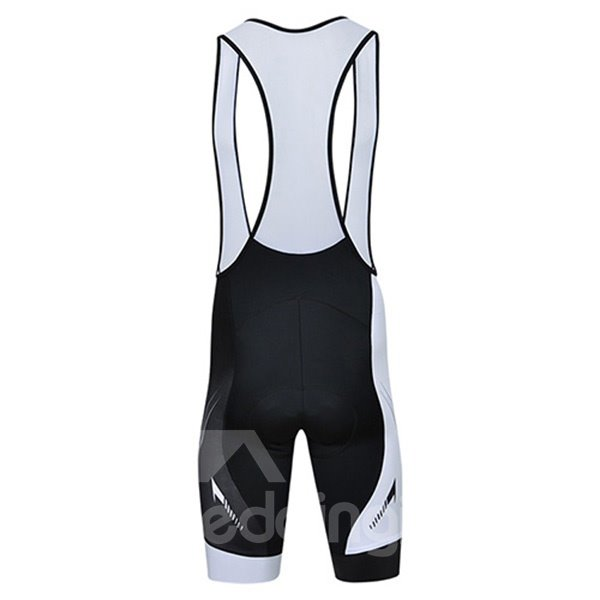Male Streamline Breathable Full Zipper Jersey Quick-Dry Cycling Bib Shorts Cycling Suit