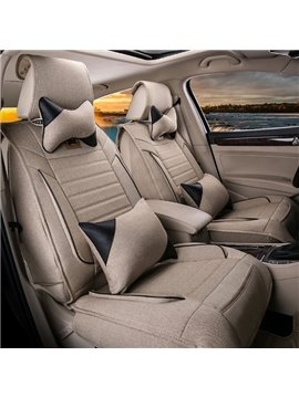 Antistatic And Rubbing Simple Luxury Style Universal Car Seat Cover