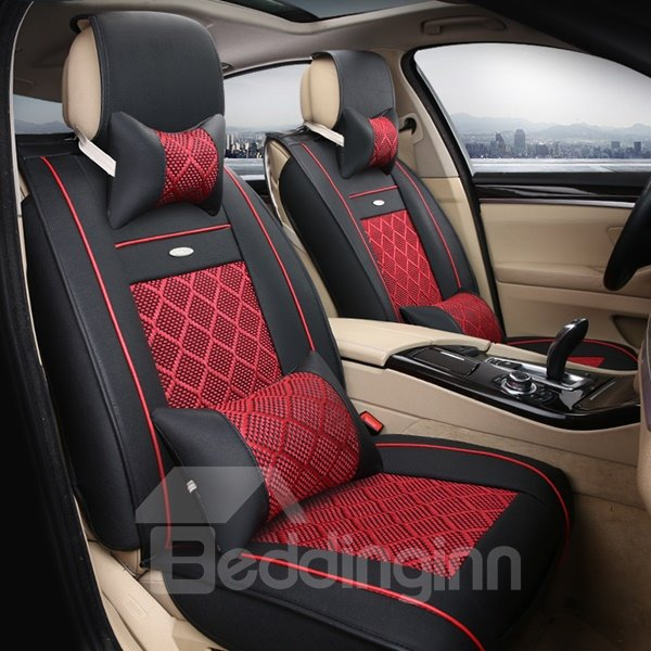 super high cost effective classic business popular universal five car seat cover. Black Bedroom Furniture Sets. Home Design Ideas