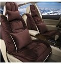 Most Comfortable And Warm Soft Flannel Material Universal Car Seat Cover