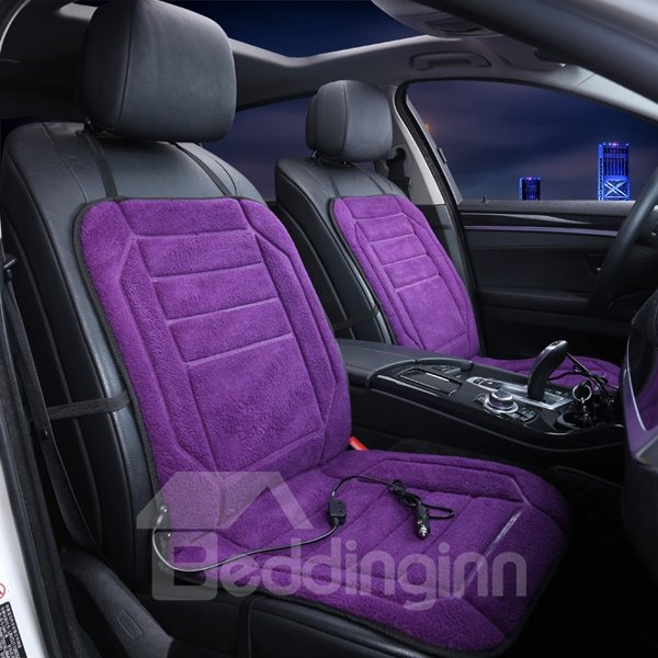 Variety Of Solid Colors Attractive Design Heating Single Universal Car Seat Mat
