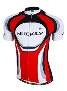 Male Red Breathable Road Bike Jersey Quick-Dry Full Zipper Cycling Jersey