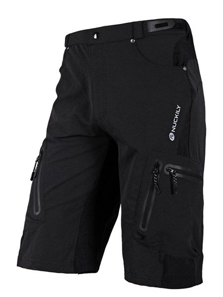 Male Polyester Resistant Quick-Dry Road Bike Shorts Breathable Cycling Shorts