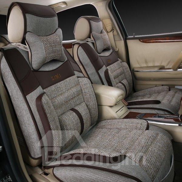 Three-Dimensional And High-Grade Good Permeability Universal Car Seat Cover