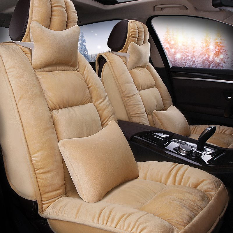 Luxurious Warm And Super Comfortable Substantial Universal Car Seat Cover