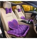 Textured Princess Wind Mash Up Most Attractive Car Seat Mat Sets
