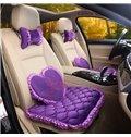 Textured Princess Wind Mash Up Most Attractive Car Seat Mat Sets