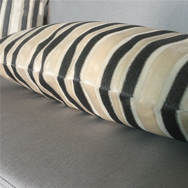 Noble Modern Decorative Chic Stripe Design Pillow