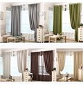 Eco-Friendly Various Colors Thick Chenille Blackout Drapes