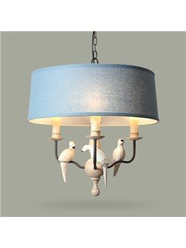 Classical Mediterranean Style Birds Ceiling Light