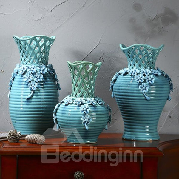 Modern Fashion Ceramic Decorative Desktop Decoration Flower Vases