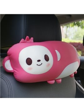 Naughty Pink Monkey Style And Most Comfortable Car Headrest Pillow
