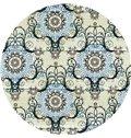 European Style Abstract Circular Patterns Print Custom Roman Shades