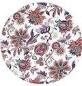 Stunning Colored Flowers Print Roman Shades