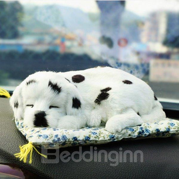 Lovely Spotted Dog Style High-Grade Plush Decoration Car Creative Decor