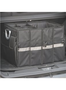 Foldable And High Capacity With Multiple Pockets Popular Car Trunk Organizer