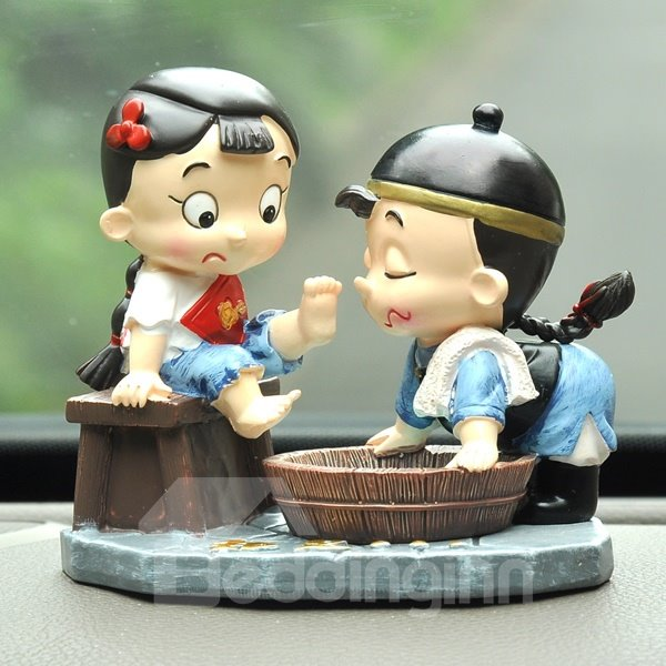 Lifelike Performance Cartoon Style Decoration Car Creative Decor