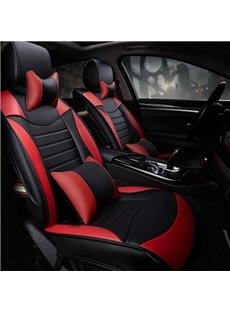 56 Sports Version Streamlined Contrast Color Design Universal Car Seat Cover