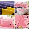 Hatched Ducklings Print 4-Piece Cotton Duvet Cover Sets
