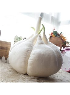 Unique Design Funny Garlic Shape Throw Pillow