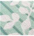 Fresh Style Green Leaves Jacquard Cotton Towel Quilt