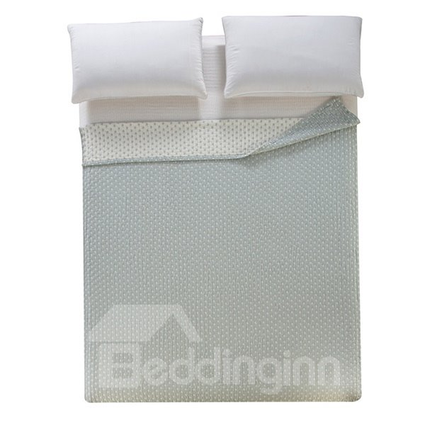 Popular Design Starfish Jacquard Light Gray Cotton Towel Quilt