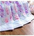 Fabulous Lavender Print Cotton Air Conditioning Quilt