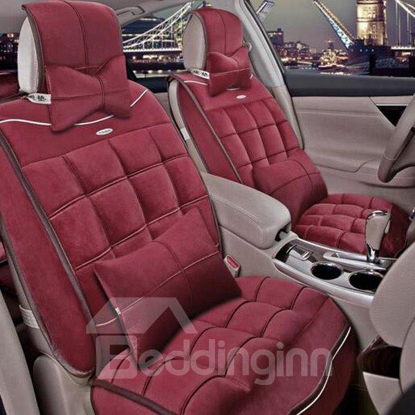Antistatic Rubbing Comfortable Material Popular Design Universal Car Seat Cover