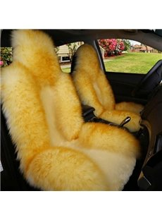 Soft Plush Beautiful Color Cost-Effective Luxurious Five Universal Car Seat Cover