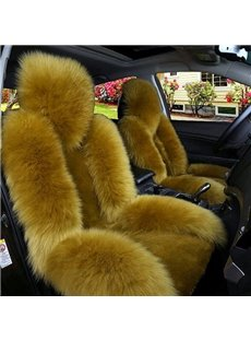 Luxury And Warm Lambswool Charming Fashionable Universal Car Seat Cover