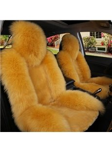 Luxury And Cozy Plush Material Fashional Design Five Universal Car Seat Cover