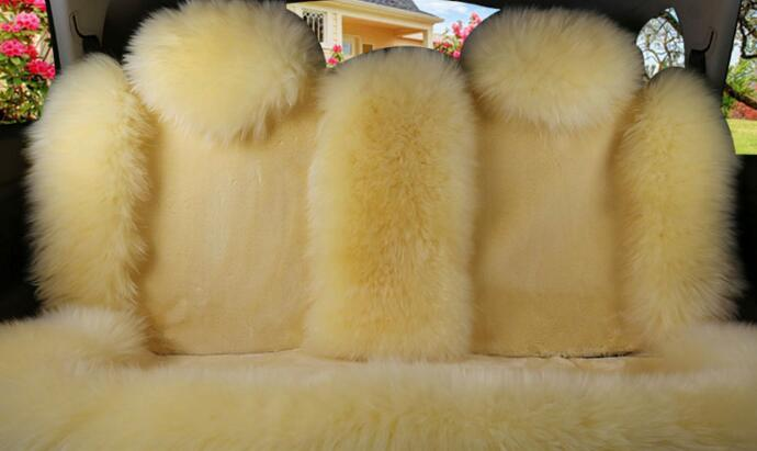 Luxurious And Durable Plush Material Charming Universal Car Seat Cover