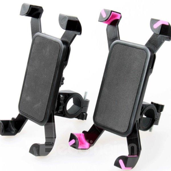 Outdoor Bike Phone Mount Holder Cradle 360 Degree Cycling Clip-Grip Mount Holder