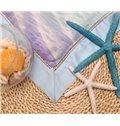 Super Soft Graceful Mermaid Print Tencel Quilt