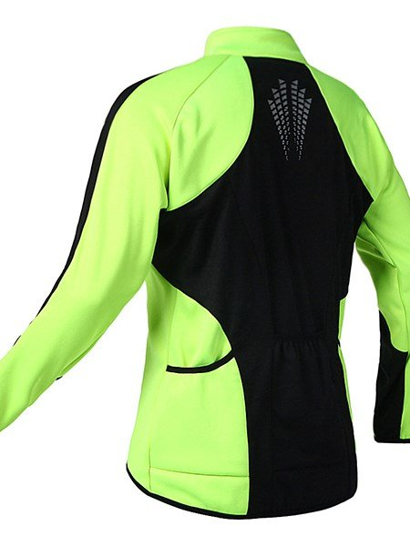 Male Fleece Long Sleeve Warm Road Bike Jersey Windproof Cycling Jersey