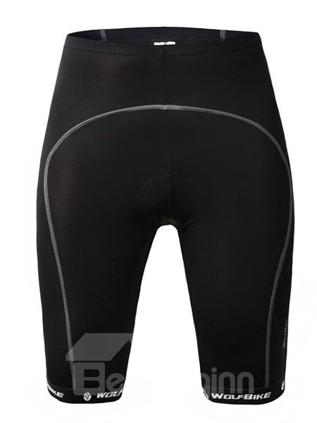 Female Black Streamline Breathable Bike Shorts Quick-Dry Cycling Shorts