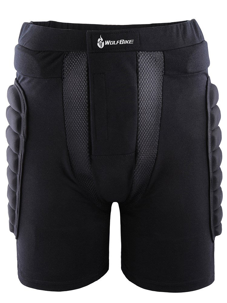 Male Breathable Black Road Bike Protective Underwear Outdoor Cycling Shorts