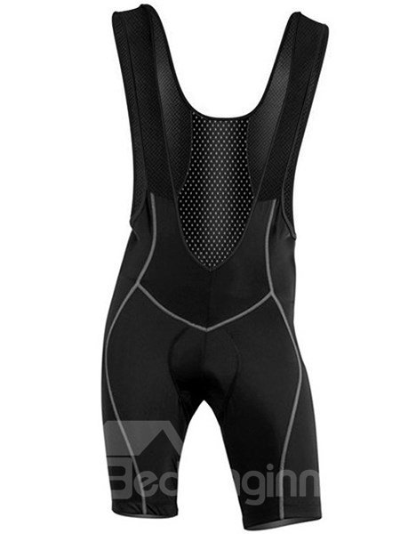Male Pro 3D Padded Cycling Bib Shorts Gel Padded Front Cycling Shorts