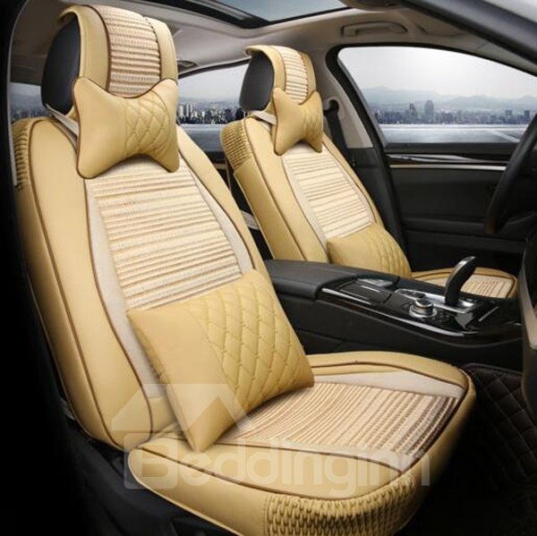 Classic Business Style Durable And Breathable Material Universal Car Seat Cover