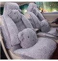 Cute And Interesting Cost-Effective Cartoon Bear Style Comfortable Five Car Seat Cover