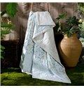 Exquisite JacobeanPattern Blue Air Conditioner Quilt