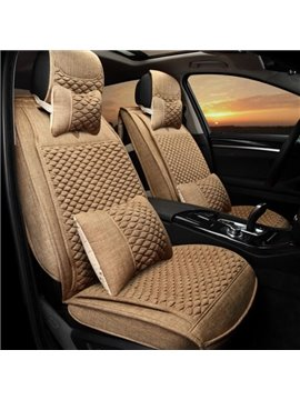 Cozy Luxury And Cool Soft Material For Pruis Camry Civic Etc Universal Car Seat Cover
